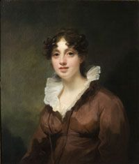 Portrait of Jane Anne Catherine Fraser, by Sir Henry Raeburn, Scottish. 1816. Philadelphia Museum of Art.