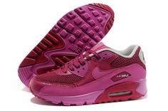 Air Max 90 Premium EM Womens Shoes Rose Red 0