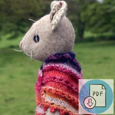 Re-Make Luna Lapin Kits Archives - CoolCrafting Doll Sewing Patterns, Sewing Ideas, Knitting Patterns, Sewing Projects, Shawl Patterns, Sock Yarn, Felt Toys, Stuffed Toys, Knitting For Beginners