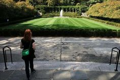 Conservatory Garden, Central Park, NY