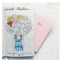 いいね!98件、コメント15件 ― Bullet Journal and letteringさん(@my.first.bu.jo)のInstagramアカウント: 「BLOOM! Floral colorful mood tracker for May! Happy weekend you all!!  . . . #bujo…」