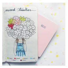 いいね!98件、コメント15件 ― Bullet Journal and letteringさん(@my.first.bu.jo)のInstagramアカウント: 「BLOOM! Floral colorful mood tracker for May! Happy weekend you all!! . . . #bujo…」
