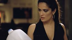 "Salma Hayek in a new bilingual ""Got Milk?"" campaign"