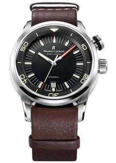 Maurice Lacroix Pontos S Vintage Diver Watch #MauriceLacroix Swiss Watchmakers  #horlogerie #pontos @calibrelondon