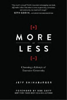 Book Review: More Or Less by Jeff Shinabarger