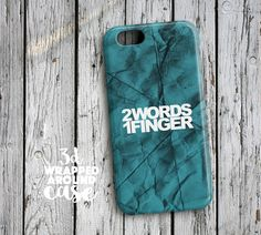 2 words 1 FingerHtc One M9 Case Htc One M8 Case by LoudUniverse