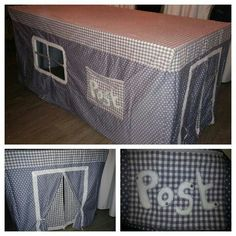 Tafeltent / play house for kids. Made bij PrettyPats.