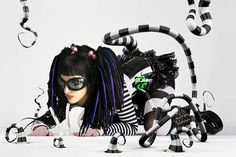 kato  cybergothic  beattle juice by dream walls art studio, via Flickr