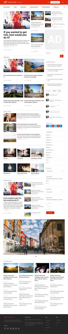 Good News : Multi-Niche Blog / Magazine WordPress Theme