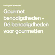 Gourmet benodigdheden - Dé benodigdheden voor gourmetten