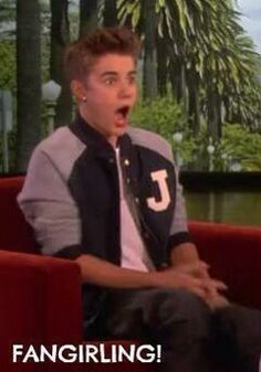 *Justin does anything* Me: