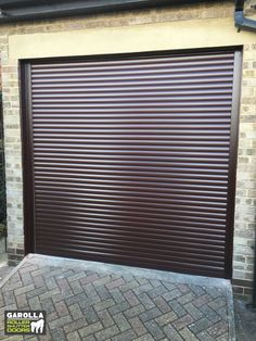 Electric Roller Garage Doors in Rosewood have a wonderfully traditional style. By clicking the link below you can see all of our garage door prices. We have all of our garage doors prices fitted online. Single Garage Door, Garage Door Paint, Garage Door Decor, Garage Door Makeover, Garage Door Design, Garage Walls, Roller Doors, Roller Shutters, Garage Doors Prices