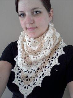 Elise sjaal met gratis nederlands patroon - Haakwereld