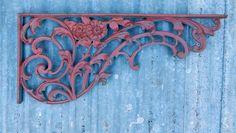 Wrought Iron Floral Corbel Bracket Trim