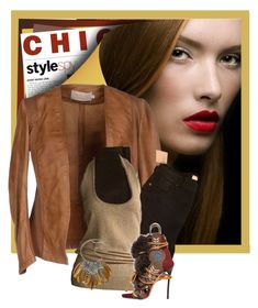 """""""Chic Style"""" by conch-lady ❤ liked on Polyvore featuring Burberry, Donna Karan, A.N.A and Dsquared2"""