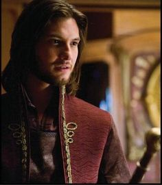 """How would this do as Count """"Black"""" Sigismund of Monte Lucio, The Woods of Windri by Violet Needham (Ben Barnes as Prince Caspian)"""