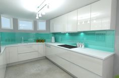 white gloss kitchen ideas - Google Search