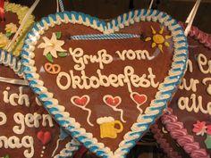 Ein Oktoberfest ohne die vielen tausend Lebkuchen-Herzen geht natürlich gar nicht!