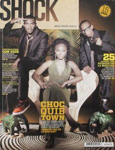 Revista Shock Magazine www.shock.com.co (Choc Quib Town)