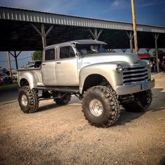 One bad ass custom four door show truck!