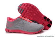 competitive price d9695 b9605 Shop Womens Nike Free Siren Red Reflect Silver Wolf Grey Running Shoes New  2013 Sneakers
