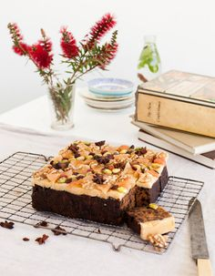 Every week, Little And Friday matriarch Kim Evans shares one of her recipes with us. Xmas Food, Christmas Cooking, Cake Recipes, Xmas Recipes, Good Enough To Eat, Cafe Food, Let Them Eat Cake, How To Make Cake, Bakery