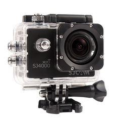 Black camera sjcam 4000 series