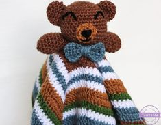 The Cuddliest Crochet Bear Lovey
