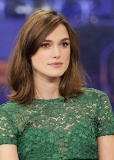Keira Knightley | Hair if I ever went straight