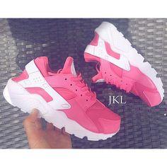 best website 0c5ea 45bc0 Hot Pink Nike Air Huarache Hot Pink Huarache Unisex Huarache Hot Pink... (  · Vurig Roze SchoenenGrijze ...