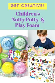 Nutty Putty and Play Foam Review. Fun, Creative Activities from Wicked Uncle. Craft products for children. Kid's craft and children's creative activities.