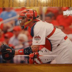 St. Louis Cardinals catcher Yadier Molina.
