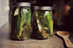 Homemade Sour & Spicy Dill Pickles
