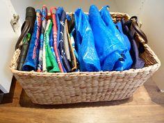 Organising To Make Life Easier: Reusable Fabric Shopping Bags