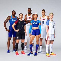 Rio 2016 uniforms