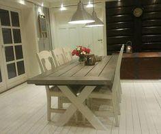Agnes spisebord 200x90 cm