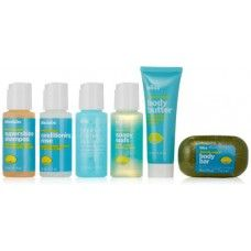 Bliss Travel Kit: The perfect travel companion ,fits in the suitcase and allows for setting up spa in a hotel bathroom!