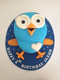 Hoot Cake with Fondant Second Birthday Cakes, Twin First Birthday, Girl Birthday, Birthday Celebration, Birthday Parties, Birthday Ideas, Owl Cakes, Just Dream, Cakes For Boys