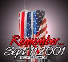 9/11 ... Let us never forget, lest people try to tell us that it never happened, just as many would try to tell us the Holocaust  never happened.