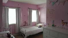 Checovenyl, Bunting, wall stickers, girls bedroom, wall stickers, twins