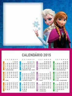 Frozen Printable Kristoff Snow World 2015 New Year Calendar Templates ...