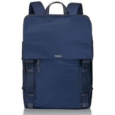 Women's Tumi 'Voyageur - Sacha' Flap Backpack (510 CAD) ❤ liked on Polyvore featuring bags, backpacks, indigo, laptop backpack, flap backpack, blue bag, backpack laptop bag and rucksack bag