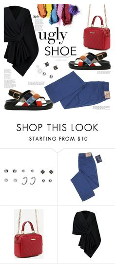 """""""Tricky Trend"""" by mycherryblossom ❤ liked on Polyvore featuring Marni, Ishii, polyvoreeditorial, polyvorestyle and uglyshoes"""