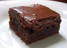 Big, Fat, Moist Brownies - Cocinando con Alena