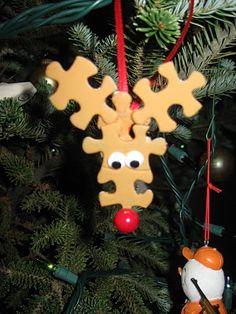 Jigsaw reindeer