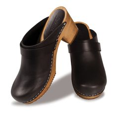 The perfect clogs. Higher quality than Swedish Hasbeens with a great heel height for walking. On sale for $91. Can not recommend these enough.