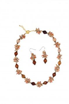 Christmas Gift at Sainchristine.com Freshwater pearl necklace & earrings set