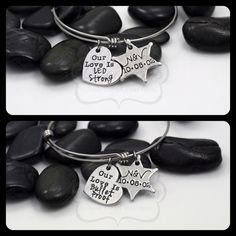 Hand Stamped Personalized Sheriff / LEO Our by MyHeroCreations