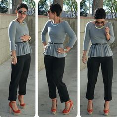 #mimigstyle diy blouse and pants, this is so chic!