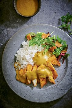 How to make Wagamama's Chicken Katsu Curry to perfection - a step-by-step tutorial from top chef Steve Mangleshot - Diet Recipes Chicken Katsu Curry Recipes, Chicken Recipes, Best Chicken Katsu Recipe, Indian Food Recipes, Asian Recipes, Vegetarian Recipes, Cooking Recipes, Cooking, Kitchens